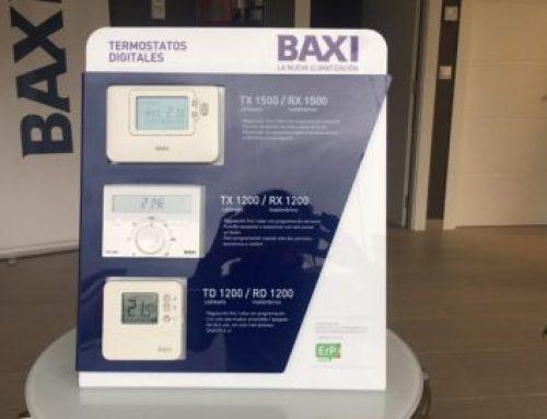 Termostatos y regulación Baxi